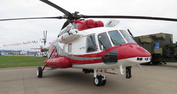 """""""Helicopters of Russia"""": the certification of the Mi-171A2 will be held in 2017"""