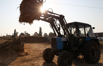 The volume of agricultural production in Russia grew by 40%