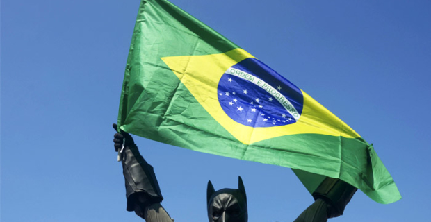 The fall in GDP in Brazil last year was the highest since 1981