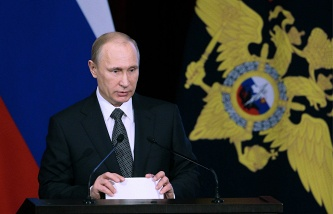 Putin noted decline in the number of serious crimes in the Russian Federation for 2015