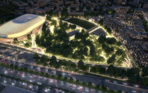 "The project ""arena Park"" was awarded international prize"