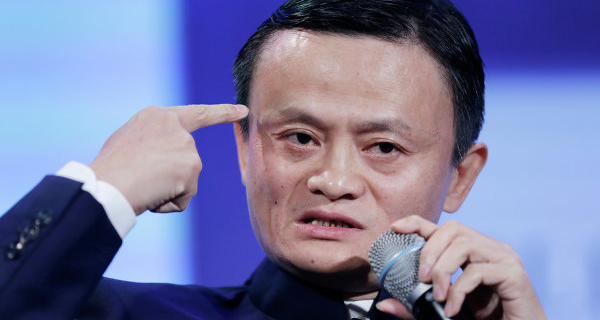 "The founder of Alibaba called ""destroy"" protectionism in trade"