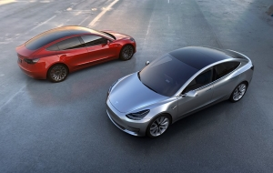 Tesla has presented a budget electric car Model 3