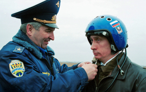 With Putin flying a fighter jet pilot will go to the state Duma