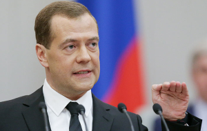 "Medvedev denied ""the disruption to shreds"" the Russian economy"
