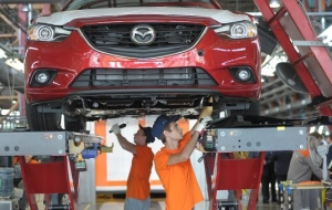 "The Ministry of industry and trade approved the contract with ""Mazda Sollers"" about creation of manufacture"