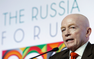 "Mark Mobius called the proposal of the Russian stock market ""bargains of the century"""