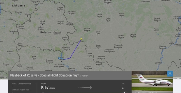The media learned about flying out to Moscow the plane with the GRU soldiers""