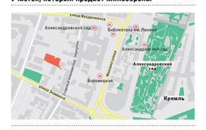 "The plot of ""Oboronservis"" the Kremlin sell for a luxury housing"