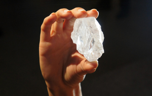 The world's largest diamond failed to sell at auction