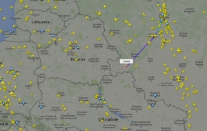 "Participating in the exchange ""the GRU soldiers"" the aircraft flew from Russia to Ukraine"