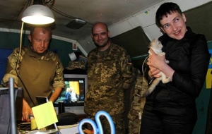 Savchenko arrived in Donbass
