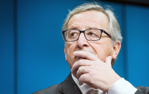 Jean-Claude Juncker has become the most mentioned in mass media participant the first day of SPIEF