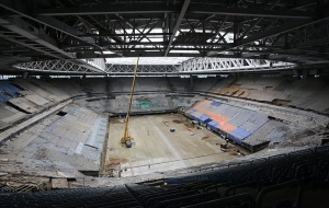 "St. Petersburg authorities banned to stop the construction of ""Zenit Arena"""