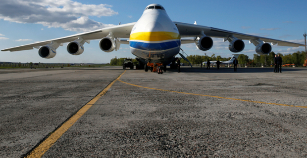 Ukraine sold China the rights to the world's largest aircraft