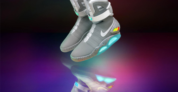 Nike released the 89 couples samochodowej sneakers from the movie Back to the future