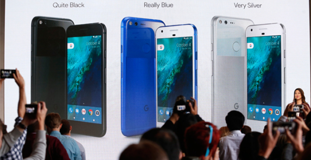 Google introduced its first smartphone Pixel