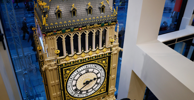 In London opened the world's largest Lego store