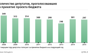 Financial opposition: who in the state Duma voted against the budget