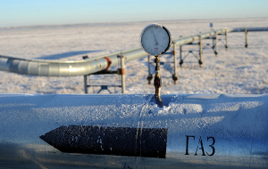 """Gazprom"" has set a new record on gas exports"