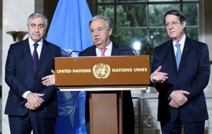 """Last chance"": in Geneva, are looking for ways to unite Cyprus"