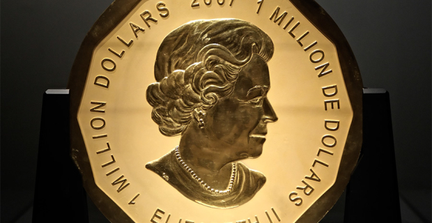 In Berlin stole a gold coin weighing 100 kg