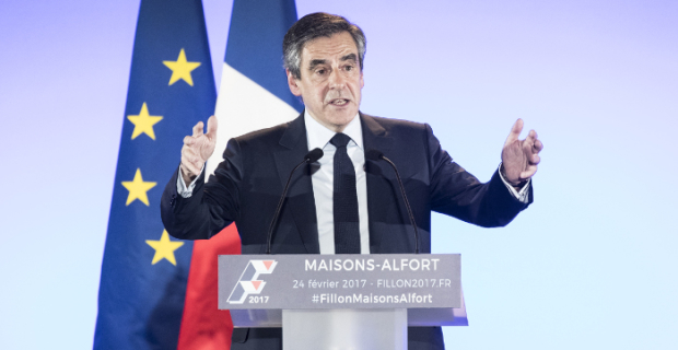 The candidate in presidents of France Fillon urged to cancel sanctions against Russia