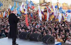 The media learned about the participation of Putin in the celebrations on the occasion of the annexation of Crimea