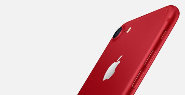 Apple announces red iPhone 7 and new iPad