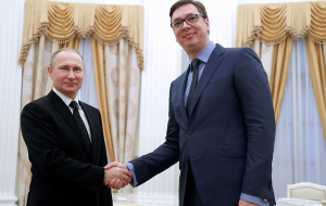 Best for Russia to win Vucic in the presidential election in Serbia