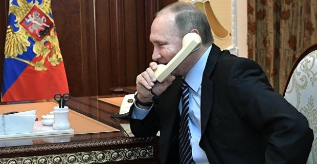 Putin held a telephone conversation with Nazarbayev