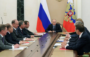 Putin discussed with the security Council negotiations with Merkel and Erdogan