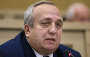 Klintsevich: Kyiv allowed the hryvnia to the wind by building a dam to block water supply to Crimea