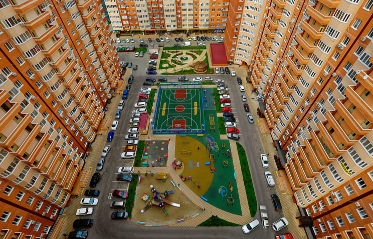 About 80 million square meters of housing was commissioned in Russia