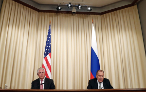 Lavrov discussed with Tillerson tasks of de-escalation in Syria