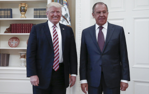 Lavrov: sanctions against Russia was not discussed at the talks with trump
