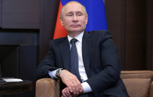 The level of electoral support for Putin is 61-66%