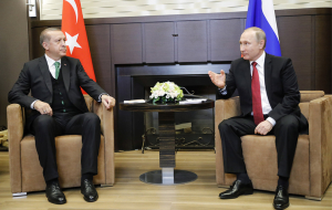 Press conference Putin and Erdogan in Sochi. Video