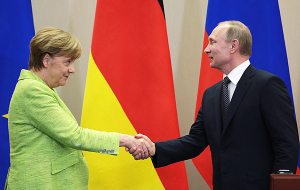 Putin and Merkel discussed the crisis in Ukraine and the persecution of gays in Chechnya