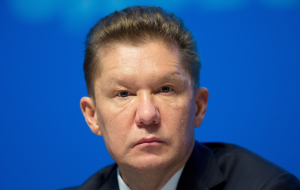 "Miller said that the first time hears about his ""departure"" from Gazprom"
