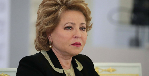 "Matviyenko said that Russia has enough women in positions of ""decision-making"""
