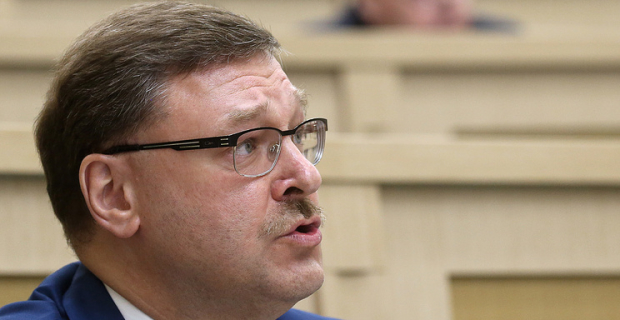 Kosachev: the failure of the Macron to demand the departure of al-Assad speaks about plans to once again become a key player