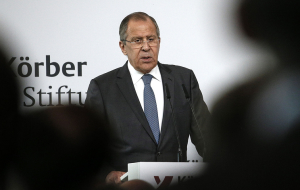 Lavrov: Russia will not get involved in negotiating the conditions for lifting the sanctions