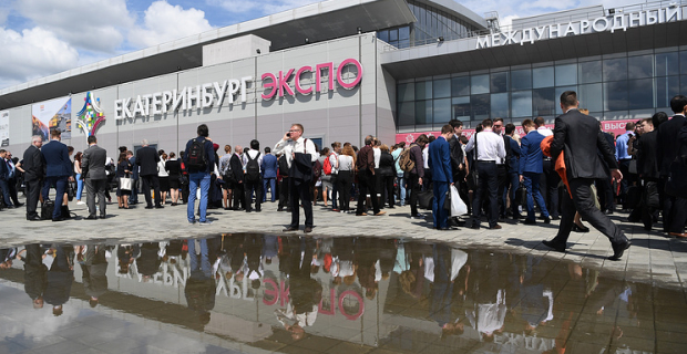 """""""Innoprom"""" surprise foreigners the quality of Russian industrial products"""