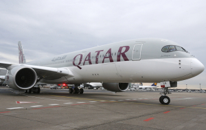 The United States lifted the ban on transportation electronics on flights with Qatar Airways