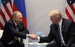 Peskov: Putin pleased with the first meeting with trump