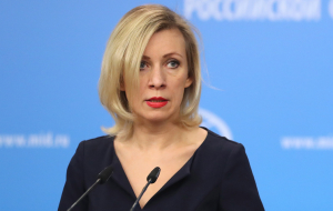 "Zakharova called video of the ""forest brothers"" NATO's attempt to distort history"