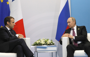 Putin meeting with Macron noted the intensification of economic ties with France