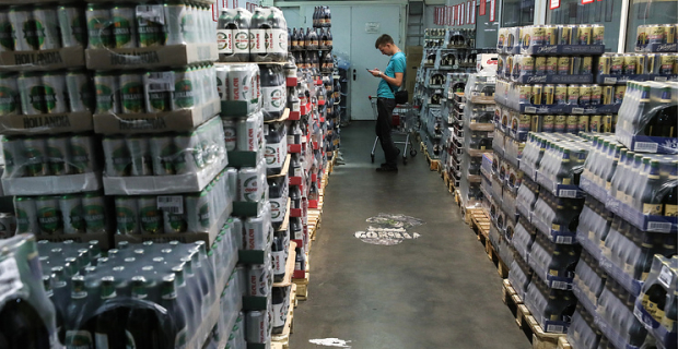Proceeds from the excise tax on spirits with the beginning of the year increased by 30%