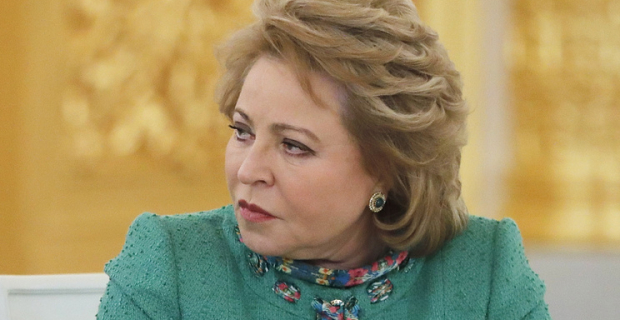 "Matvienko: Russia is counting on the ""appropriate action"" against its powers in PACE"